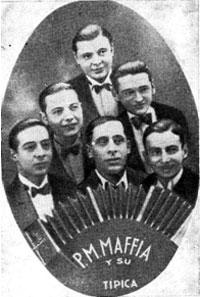Секстет под управлением  Педро Маффио - коллектив, прославившийся исполнением танго в 20-е годы